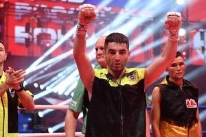 Михайло Алоян завоював  срібний  пояс WBC у другому бою на профірингу