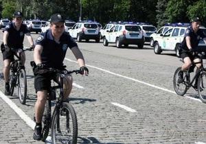новости Одессы - милиция - милиция в шортах - В Одессе вновь появились милиционеры в шортах и на велосипедах