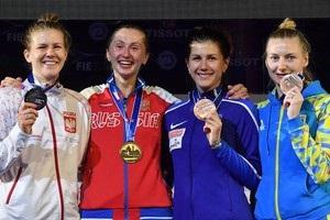 Украинка Кривицкая впервые выиграла медаль чемпионата мира