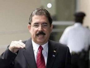 Селайя проведет переговоры с временными властями Гондураса
