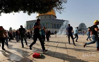 На Храмовой горе в Иерусалиме новые столкновения