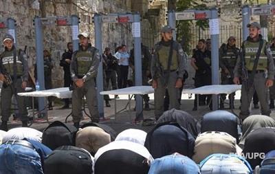 Израиль вновь ограничивает доступ на Храмовую гору