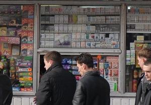 Киевсовет в декабре рассмотрит вопрос упорядочения торговли алкоголем и табаком в киосках