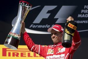 Феттель виграв Гран-прі Угорщини