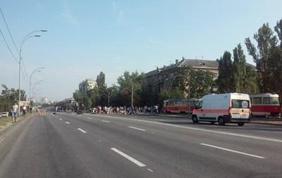 В Киеве восстановлено движение по Харьковскому шоссе