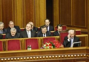 Правительство Азарова провело свое первое заседание