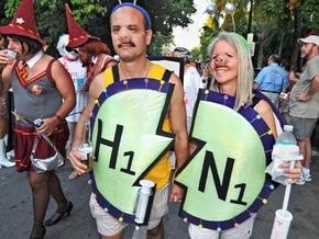 Фотогалерея: Хеллоуин-2009. Ведьмы, упыри и H1N1