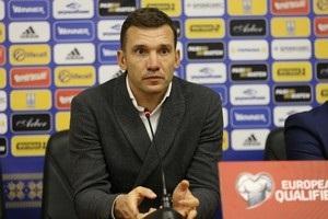 Шевченко: При встрече пожелаю Луческу удачи, но не в матче против Украины