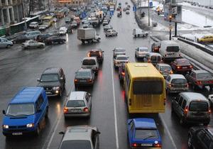 За минувшие сутки на дорогах Украины в ДТП погибли пять человек