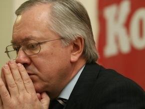 Тарасюк надеется, что Украина не введет визы для европейцев