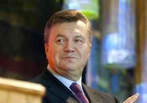 Янукович: Вокруг Украины создан пояс безопасности и стабильности