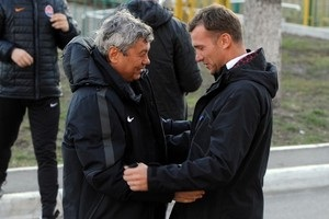 Шевченко: Желаю Луческу удачи, но не в матче против нас