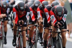 Команда BMC выиграла командную  разделку  на первом этапе Вуэльты