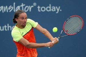 Долгополов проиграл теннисисту из второй сотни