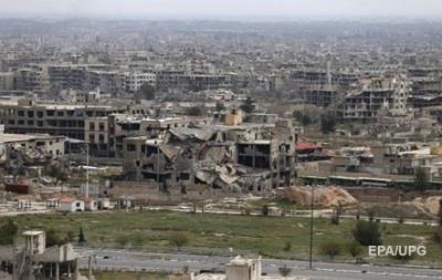В Дамаске при авиаударе на ярмарке погибли шесть человек