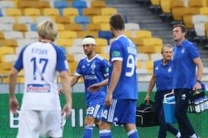 Новачок Динамо вилетів на невизначений термін після дебюту за киян