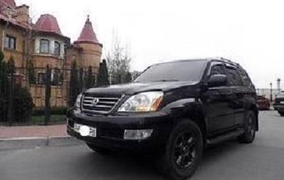 Суд арестовал организаторов угона Lexus Фацевича