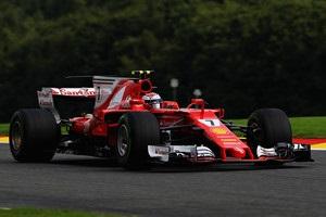 Райкконен - найкращий на третьому тренуванні Гран-прі Бельгії