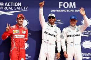 Гран-прі Бельгії: Гамільтон виграв кваліфікацію