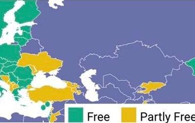 Во Freedom House объяснили карту Украины без Крыма