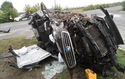 У ДТП під Полтавою постраждали шестеро осіб