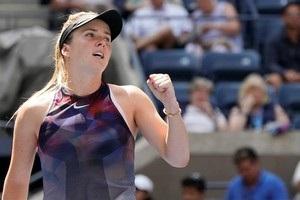 Свитолина впервые в карьере прошла в четвертый круг US Open