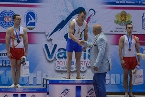 Радивилов и Пахнюк на двоих взяли три золотых медали Кубке мира в Болгарии