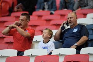 Англійських уболівальників не пустили на матч збірної через помилку в квитках