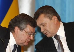 Янукович лишил Грищенко должности в СНБО