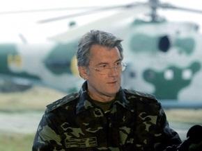 Ющенко просит депутатов начать пленарную  неделю с вопроса о финансировании армии