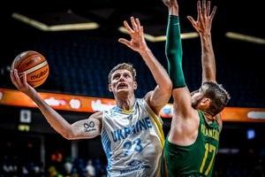 Украина разгромно проиграла Литве на Евробаскете