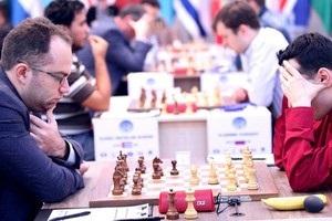 Три украинских шахматиста вылетели из борьбы на Кубок мира