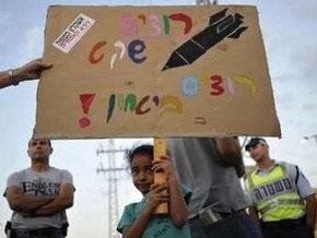 Израиль и Палестина договорились о прекращении ракетных обстрелов