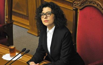 Віце-спікер Ради оскандалилася заявою про АТО