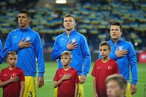 Сборная Украины по футболу попадет во второй Дивизион Лиги Наций