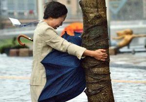 В Японии из-за тайфуна без электричества остались 80 тысяч домов