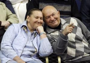 Задекларированный доход жены Лужкова составил миллиард долларов