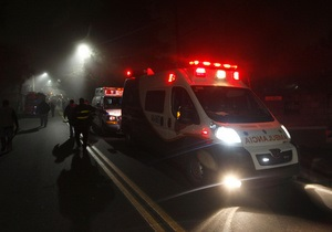В Бразилии перевернулся автобус: есть пострадавшие
