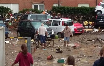 В Италии затопило западное побережье, есть жертвы