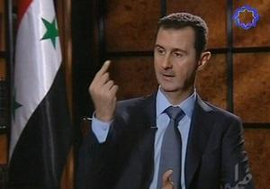 Асад обвинил Британию в разжигании конфликта в Сирии