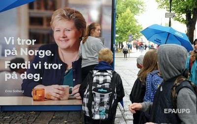На выборах в Норвегии вновь победили консерваторы