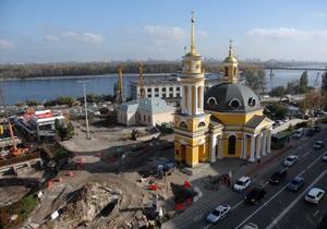 новости Киева - Почтовая площадь - В Киеве открылась первая очередь туннеля на Почтовой площади