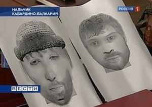 Силовики обнародовали фотороботы подозреваемых в организации теракта в Нальчике