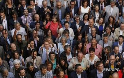 Более 700 каталонских мэров поддержали референдум о независимости