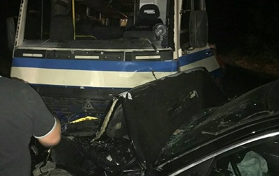 В Одеській області зіткнулися маршрутка і BMW: семеро постраждалих