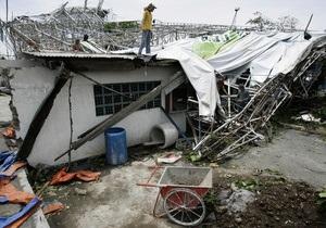 Жертвами тайфуна на Филиппинах стали 37 человек, еще 26 пропали без вести
