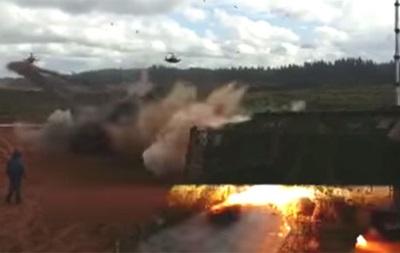 У Росії заперечують обстріл цивільних з вертольота