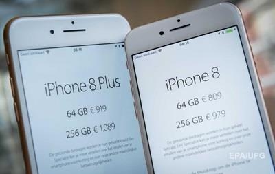 iPhone 8: Apple потеряла $43 млрд капитализации