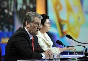 БЮТ подозревает, что тезисы Ющенко писала Герман