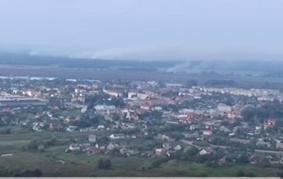 На ликвидацию пожара под Винницей дали 100 млн